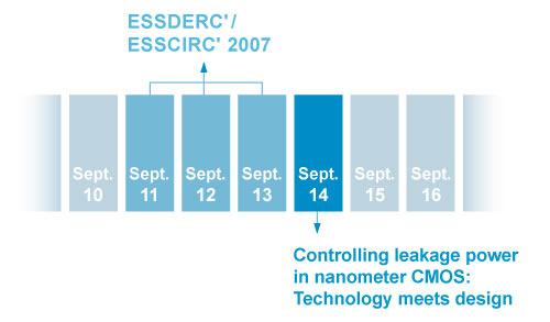 course and ESSDERC/ESSCIRC calendar