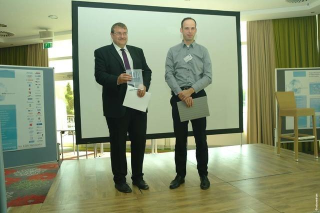 EDA Achievement Award 2016 für Prof. Dr.-Ing. Wolfgang Ecker von der Infineon Technologies AG