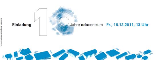 10 Jahre edacentrum Logo