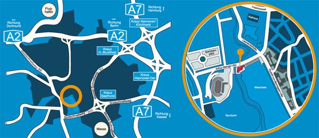 Hannover Stadtplan