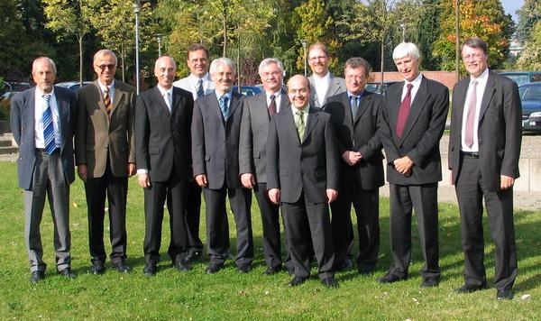 edacentrum Aufsichtsrat im Oktober 2007